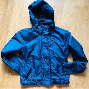 Athleta Waterproof Jacket Navy